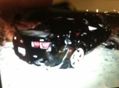12-11 accident  Brearley car pic provided by Vigo County Sheriff