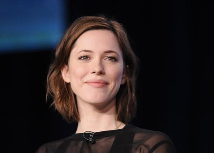 "British actress Rebecca Hall takes part in a panel discussion of HBO's ""Parade's End"" during the 2013 Winter Press Tour for the Television C"