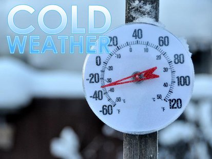 Cold weather plagues the area. Copyright Midwest Communications, Inc.