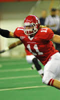 University of South Dakota Linebacker Tyler Starr