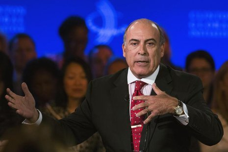 Muhtar Kent, chairman and CEO of the Coca-Cola Company speaks at the Clinton Global Initiative (CGI) in New York September 25, 2013. REUTERS
