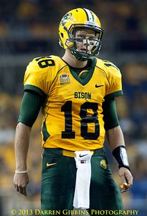 Brock Jensen in the Fargodome