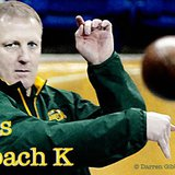 Chris Klieman takes over as NDSU head football coach.  Klieman is shown above during his defensive coordinator duties.