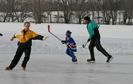 Sioux Falls outdoor ice rinks will open for the season at 4 p.m. on Friday, December 20, 2013, weather permitting. (Sioux Falls.org)