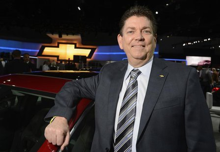 Chris Perry, Vice President of Marketing for Chevrolet and General Motors, poses for a photo at the 2012 Los Angeles Auto Show in Los Angele