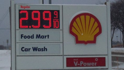 This price was found at a Shell Station on West Main.