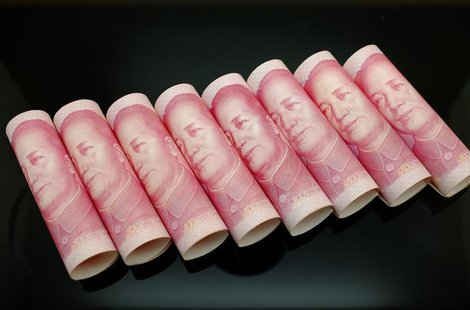 100 Yuan notes are seen in this illustration picture in Beijing November 5, 2013. REUTERS/Jason Lee