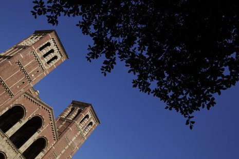 University of California Los Angeles (UCLA) campus is shown in Los Angeles, September 18, 2009. REUTERS/Lucy Nicholson