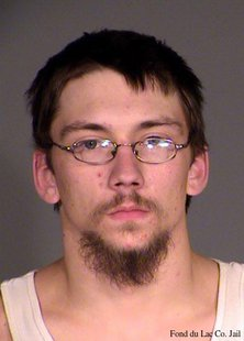 James R. Erdmann Jr. (Photo from Fond du Lac County Jail/FOX 11)