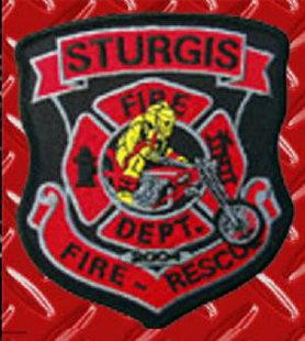 Sturgis Fire Department Patch