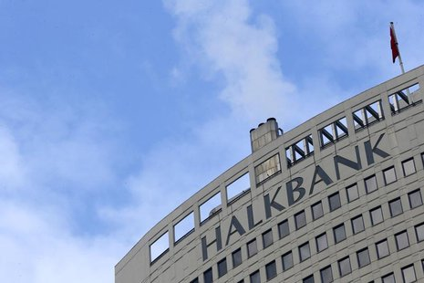 Turkey's Halkbank headquarters are seen in Ankara December 17, 2013. REUTERS/Umit Bektas