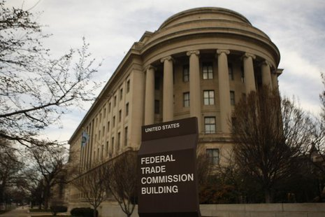 The Federal Trade Commission building is seen in Washington on March 4, 2012. REUTERS/Gary Cameron