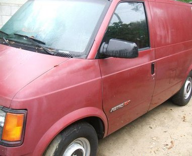 photo supplied by Vigo County Sheriff. Suspect van may look like this one.