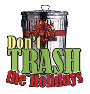 Recycle Holiday Trash