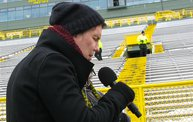 Behind the Scenes :: Johnny Rzeznik National Anthem @ Lambeau 3