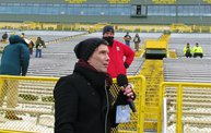 Behind the Scenes :: Johnny Rzeznik National Anthem @ Lambeau 2