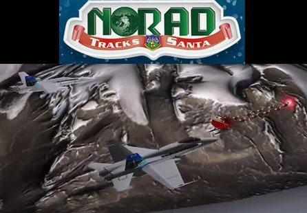 NORAD tracking Santa again in 2013. (NORAD.gov)