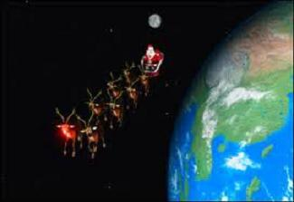 Watch out for space junk Santa!