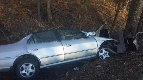 12-24 accident pic 1 photo provided by Vigo County Sheriffs Dept
