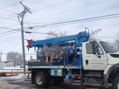 Consumers crews tackling issues big and small.
