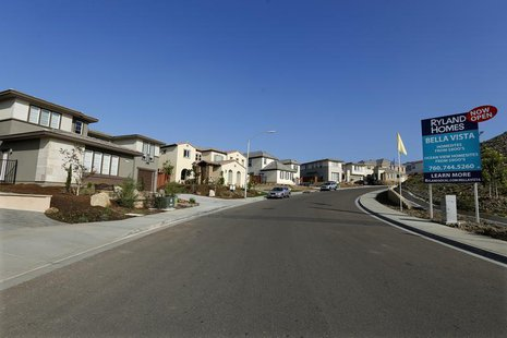 A view of single family homes for sale in San Marcos, California October 25, 2013. REUTERS/Mike Blake