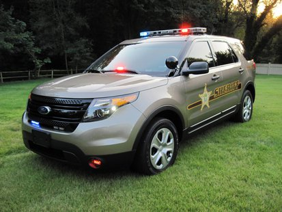 Vigo County Sheriff Vehicle