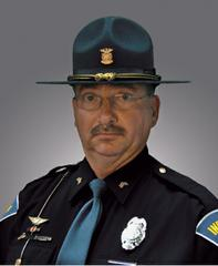 Indiana State Police Trooper Mike Capicik