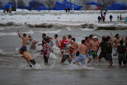 A photo from a past Polar Plunge in Sheboygan.