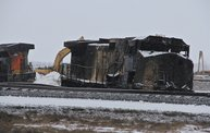 Casselton Train Derailment Aftermath 13