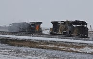 Casselton Train Derailment Aftermath 11