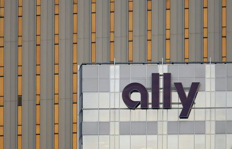 An Ally Financial sign is seen on a building in Charlotte, North Carolina May 1, 2012. REUTERS/Chris Keane