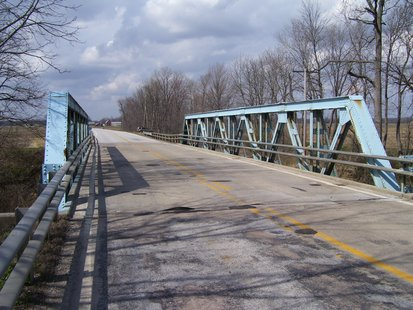 SR 46 Birch Creek Bridge  courtesy INDOT