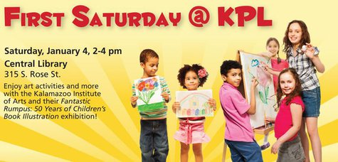 First Saturday at the Kalamazoo Public Library