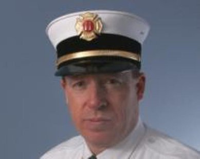 Holland Public Safety Fire Captain Chris Tinney