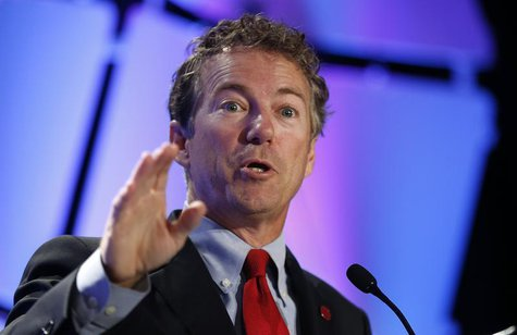 Senator Rand Paul (R-KY) speaks at the Liberty Political Action Conference (LPAC ) in Chantilly, Virginia September 19, 2013. REUTERS/Kevin