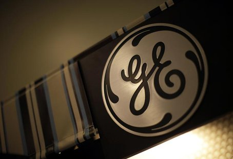 A GE logo is seen in a store in Santa Monica, California, October 11, 2010. GE will release its third quarter earnings on Friday. REUTERS/Lu