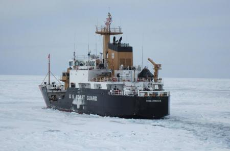 USCG Cutter Hollyhock (photo from USCG)