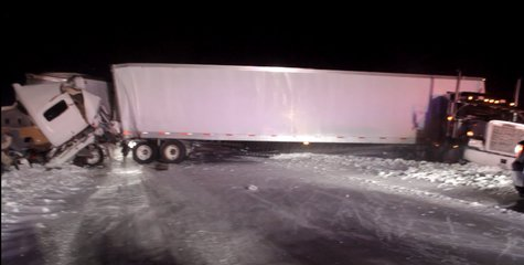 I70 Accident pic 1 provided by Indiana State Police