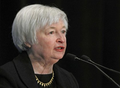 Janet Yellen, President Barack Obama's nominee to lead the U.S. Federal Reserve addresses the 29th National Association for Business Economi