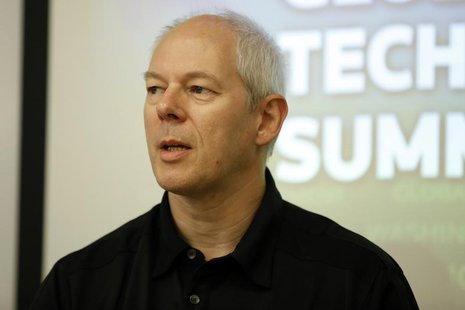 Adrian Cockcroft, former Chief Cloud Architect of Netflix, speaks during Reuters Global Technology Summit in San Francisco, June 19, 2013. R