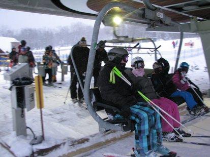 Granite Peak skiers