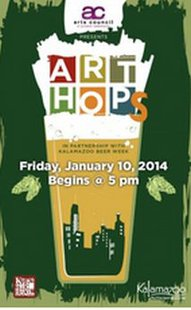 Kalamazoo Art Hops this Friday.