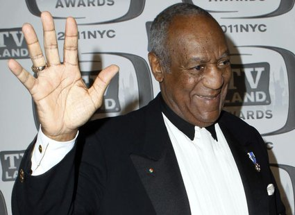 "Actor Bill Cosby arrives at the ""TV Land Awards 2011"" in New York City April 10, 2011. REUTERS/Jessica Rinaldi"