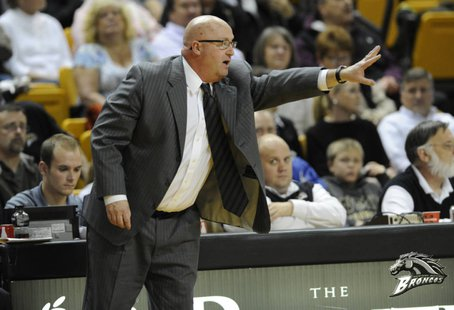 WMU Head Basketball Coach Steve Hawkins