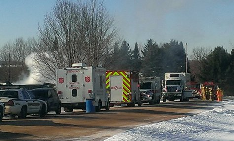 House explosion at Pioneer Lane in Wausau