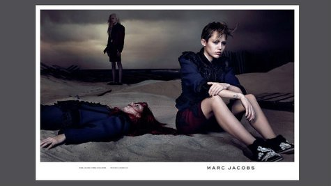 Image courtesy of David Sims for Marc Jacobs (via ABC News Radio)