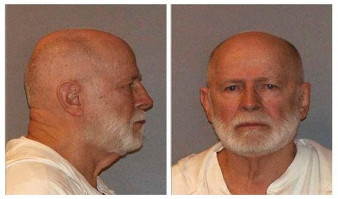"Former mob boss and fugitive James ""Whitey"" Bulger, who was arrested in Santa Monica, California on June 22, 2011 is seen in a combination o"