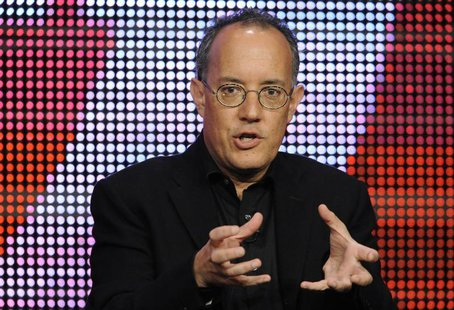 "Executive producer David Crane participates in the panel for ""Episodes"" during the CBS, Showtime and the CW Television Critics Association p"