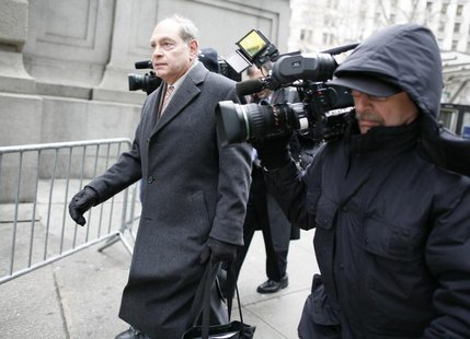 Irving Picard, the bankruptcy trustee in the Bernard Madoff case, exits the U.S. Bankruptcy Court in New York February 2, 2010. REUTERS/Bren