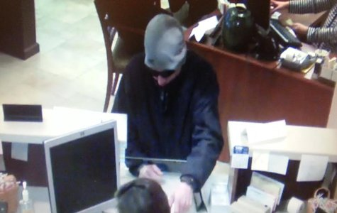 THSB robbery suspect photo 2 supplied by Terre Haute City Police